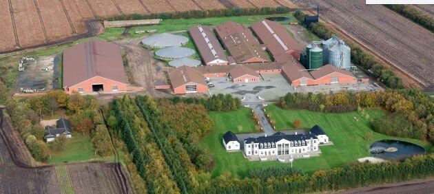 Intresset uppges vara stort för att få förvärva den stora gården.