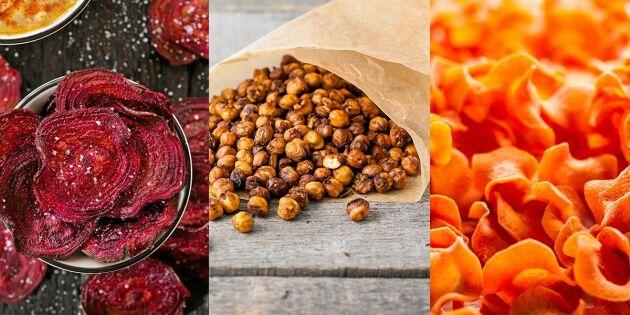 7 nyttiga snacks till fredagsmyset