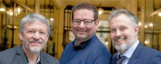 Peter Løvendahl, Jan Lassen och Henrik Bjørn Nielsen har forskat på den genetik hos kon som styr utsläppen av metangas. Det blir nu möjligt att avla fram miljövänligare mjölkdjur.