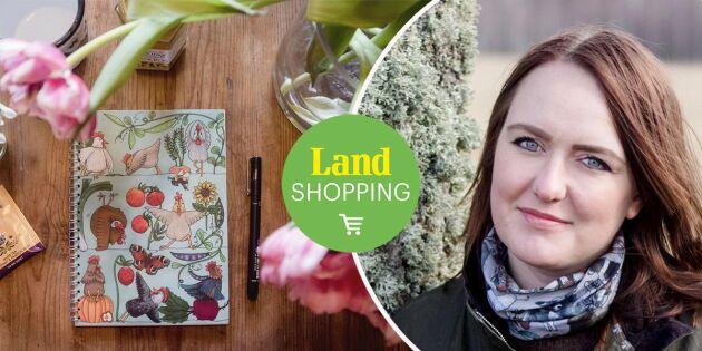 """Emma tecknar gårdslivet och gör bruksföremål: """"Konst ska slitas med hälsan"""""""