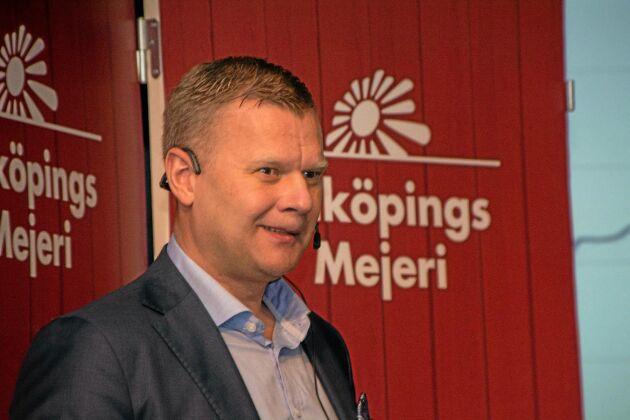 Anders Segerström, VD för Falköpings mejeri, menar att framtiden för svensk mjölkproduktion avgörs inom de närmaste två–tre åren av handel, konsumenter och politiker.