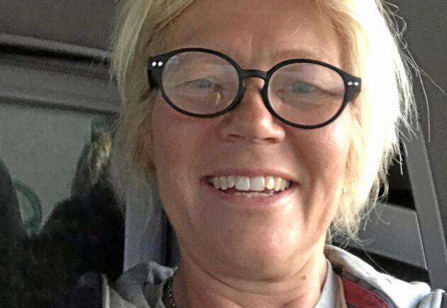 Kristina Forsberg, spannmålsodlare.