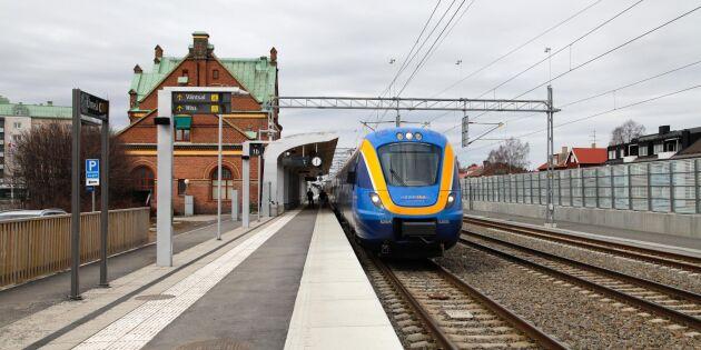 Första spadtaget för ny snabbjärnväg i norr