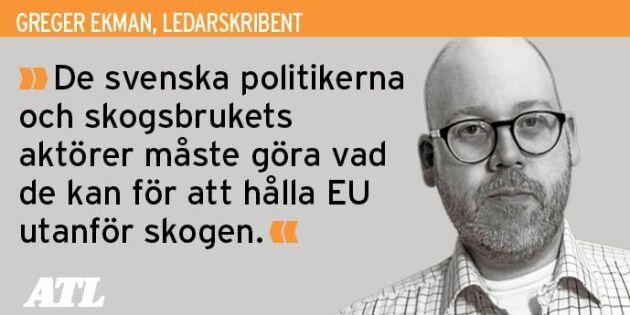 Valresultatet kan påverka EU:s makt i svensk skog