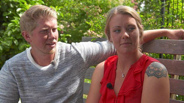 Hönsbonden Erik hade svårt att visa sina känslor men valde i slutändan Alicia.