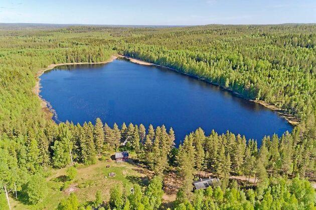 Sjön Altjärn är till salu för 1 miljon kronor.