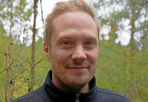 Anders Lögegård, ägare och återförsäljare i Norrköping.