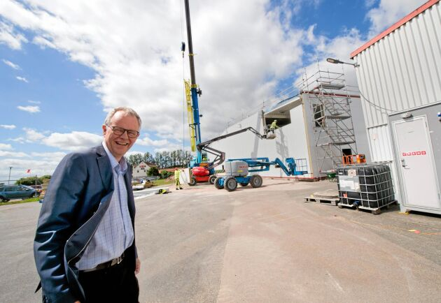 Efterfrågan på potatisbaserade specialstärkelser bedöms vara fortsatt stark framöver vilket motiverar investeringen i ökad tillverkningskapacitet, berättar VD Hans Berggren.