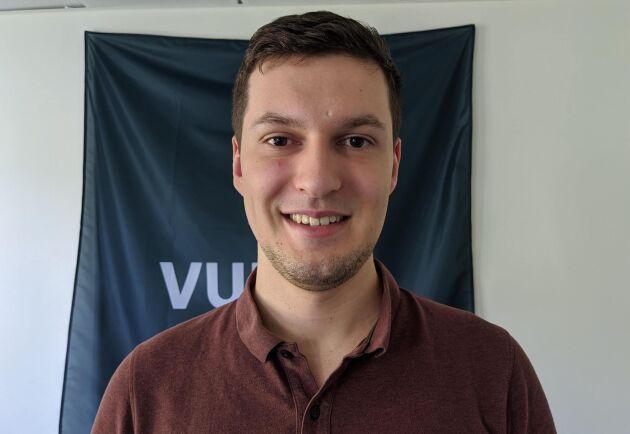 Robert Schmitt är VD och en av grundarna av Vultus, som i dag har växt till närmare 20 anställda.