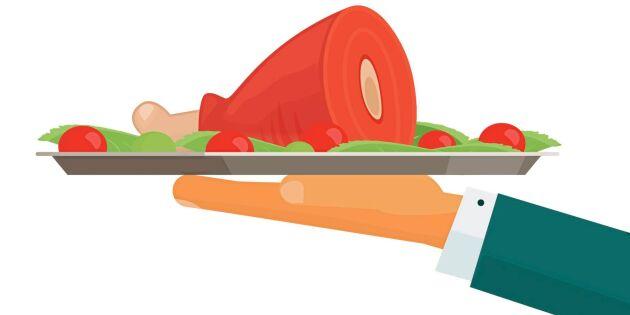 Upplys matgäster om köttets ursprung