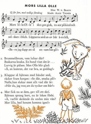 Det är svårt att hitta någon svensk som i n t e har vuxit upp med Alice Tegnérs sånger. Många menar att hon är vår mest sjungna svensk, till och med flitigare tolkad än Evert Taube.