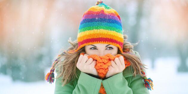 Oväntad fördel: Därför klarar kortare personer vintern bättre