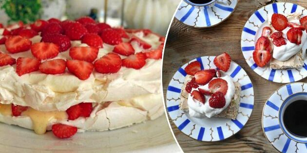 Godaste sommartårtorna – recept för hela fruntimmersveckan