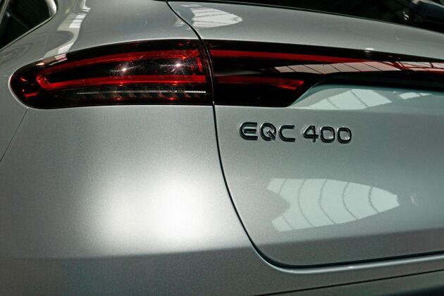 ATL provkör Mercedes EQC 400 4Matic.