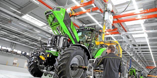 Välkommen till traktorfabriken