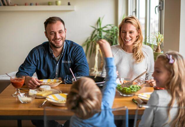 Mysiga middagar med familjen eller färdiglagat i ensamhet, hur ser dina måltider ut?