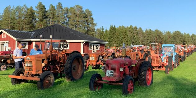 Traktormuseum rensar ut halva samlingen