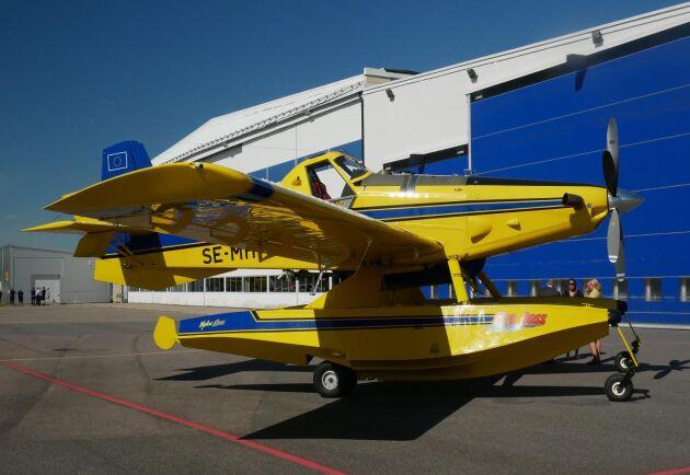 Sveriges och EU:s nya brandbekämpningsplan, Saab AT-802F Fire Boss.