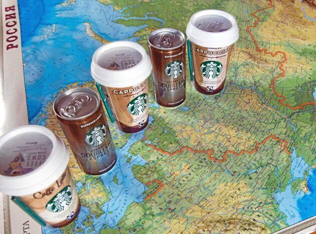 Arla Foods har registrerat sju kylda kaffedrycker för försäljning i Ryssland. Dryckerna tillverkas åt Starbucks vid chokladmjölksfabriken Cocio Chokolademælk och Arlas mejerier i Esbjerg.