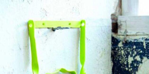 Ta hand om din gamla cykel – pakethållare blir tidningshållare