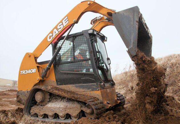 Case nya B-serie har nio bandburna modeller som kan lyfta mellan 725 till 1 500 kilo.