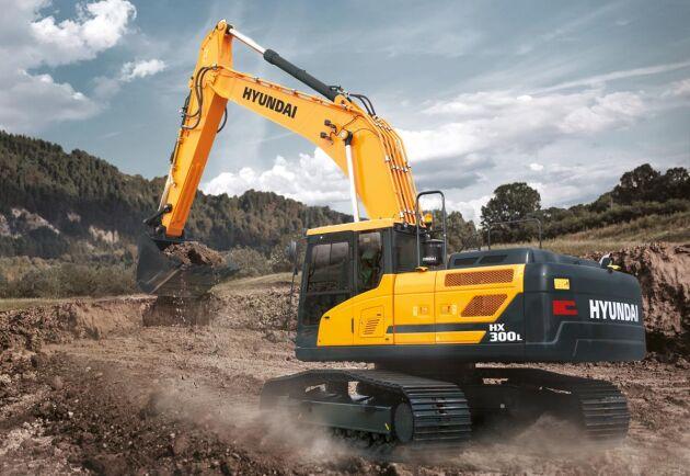 2023 ska Hyundais försäljare kunna erbjuda en vätgasdriven grävmaskin.