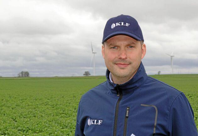 Erik Wildt-Persson, vd KLF.