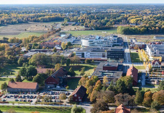 SLU i Uppsala.