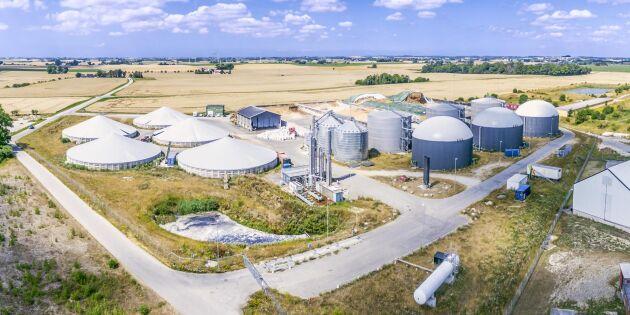 Salmonella konstaterad på Jordberga biogas