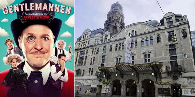 Vinn biljetter till musikalen Gentlemannen med Henrik Dorsin