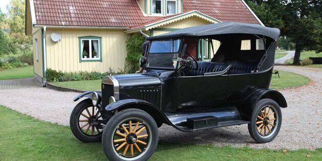 Vi har testat: Så snabb är Kronobergs äldsta bil