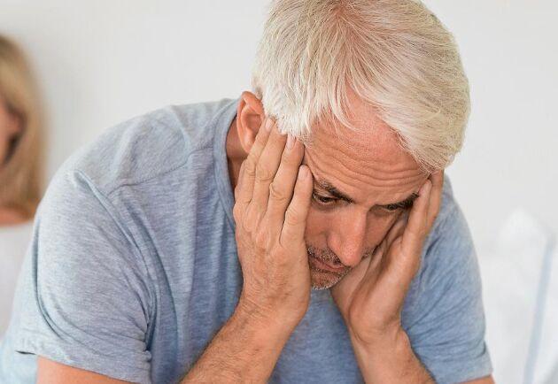 När sexlusten minskar kan det bero på testosteronbrist. Detta kan misstas för så kallat manligt klimakterium.