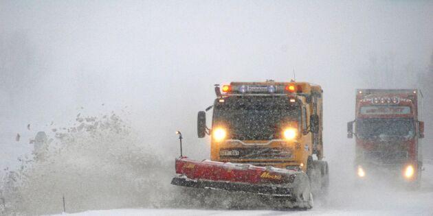 Allt färre vill snöröja vägarna