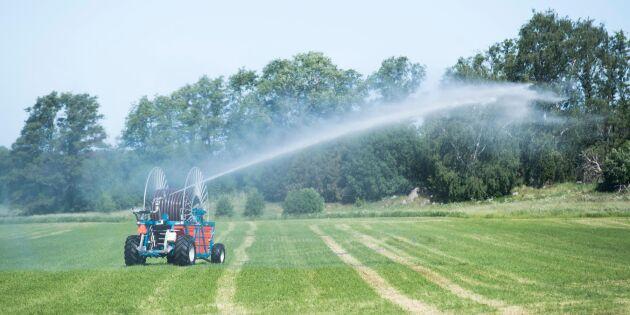 Vattenbrist hotar i stora delar av landet