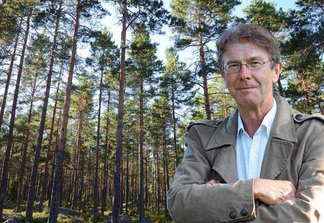 Land Skogsbruks ledarskribent Pär Fornling.