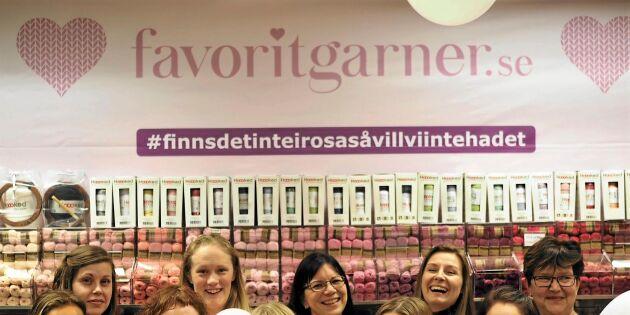Äntligen! En svensk portal för virkgalna!