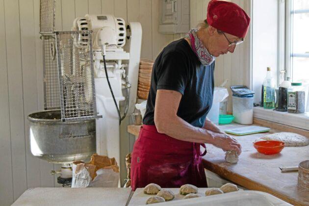 I bagarstugan förädlas spannmålen.