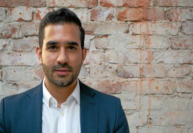 Adam Aljaraidah, VD på Virkesbörsen AB, har utsetts till Årets Unga Pionjär i region Stockholm.