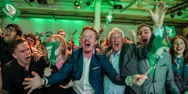 Rekordhögt valdeltagande i svenska EU-valet