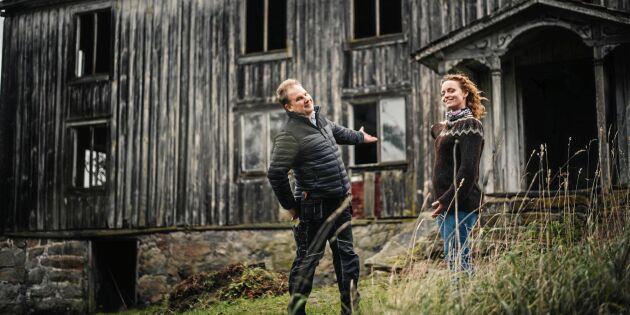 """Ödehusräddning blir webb-tv: """"Handlar om passion och hjärta för landsbygden"""""""