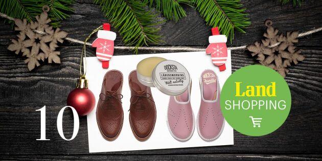 Julkalendern 2017: Höga Kustens trendiga slippers – lädersmorning på köpet