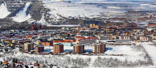 Kiruna är Sveriges till ytan största kommun och landets nordligaste stad.