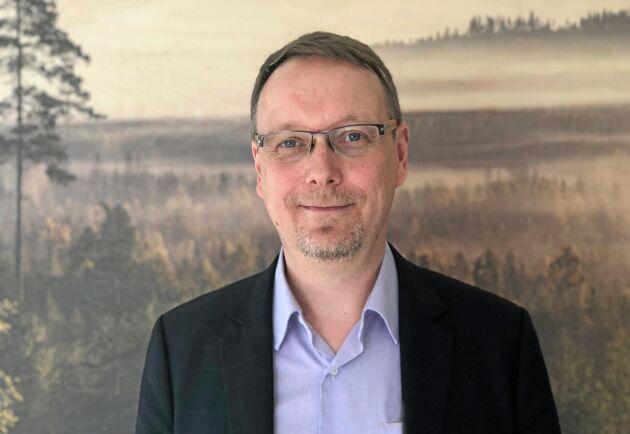 Mathias Fridholm är ny direktör för Svenskt Trä.