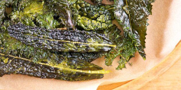 Knaprig kålbacon – nyttigt gourmésnacks på minuten