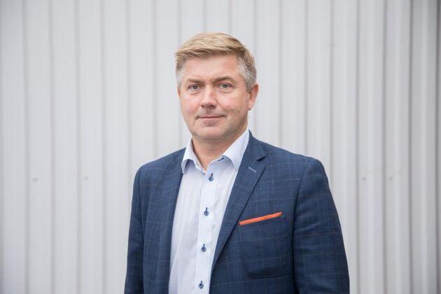 Claes Persson, ny vd vid Gäsene.