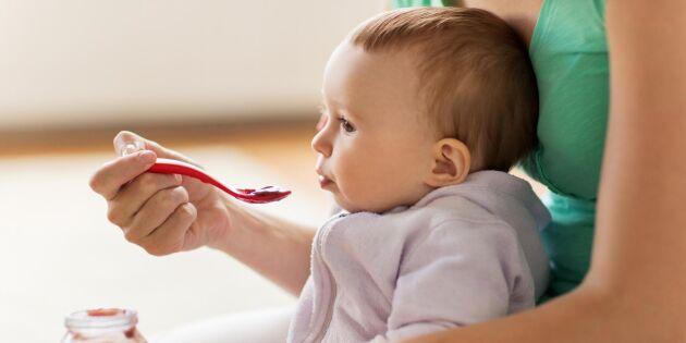 Barnmat innehåller för mycket arsenik och kadmium