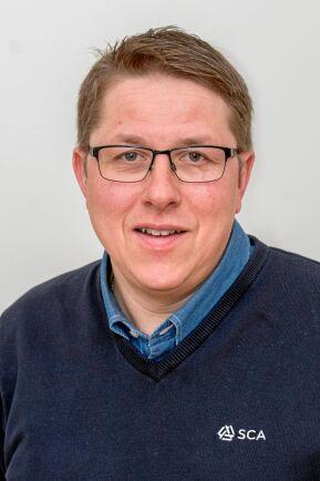 Thomas Vestman, Thomas Vestman ansvarig för SCA:s Norrplant.