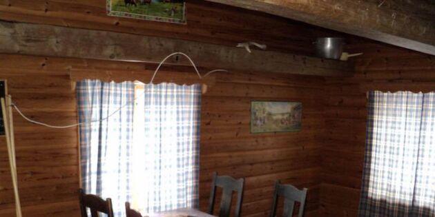 Unik chans! Långtidshyr en egen fäbod i väglöst land i Dalarna