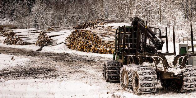 Skogsmaskinförare - ett bristyrke som växer