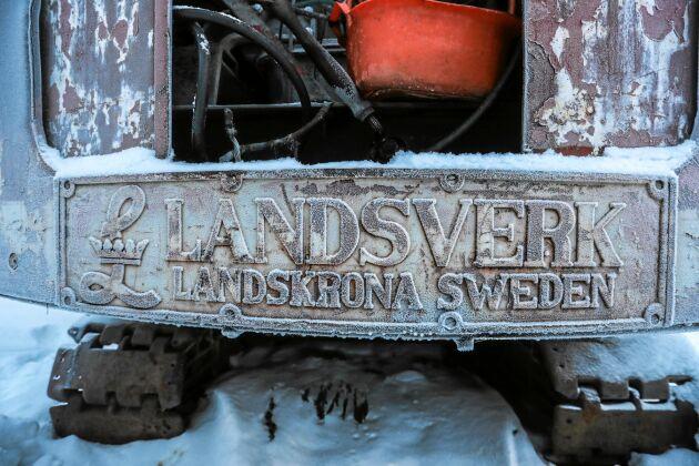 En av Nisses rariteter - en gammal Landsverk, tillverkad i Landskrona.